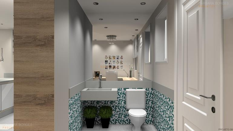 cortina quarto de bebe banheiros simples