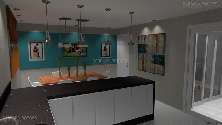 ideias decoração de interiores banquetas cozinha