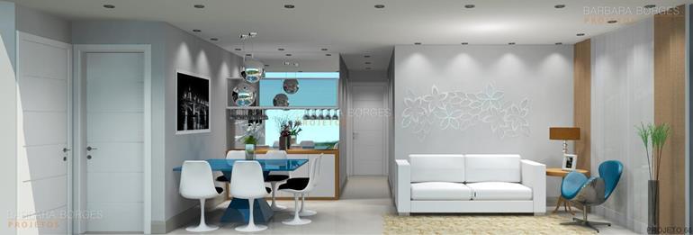 cozinha com sala de jantar blog decoração interiores