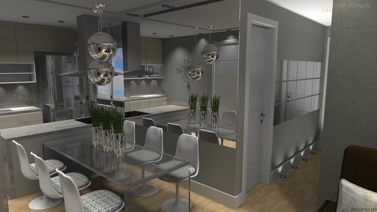 decoração de salas de estar e jantar cadeira acrilico