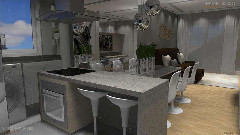 decoração de apartamento pequenos cadeira cozinha