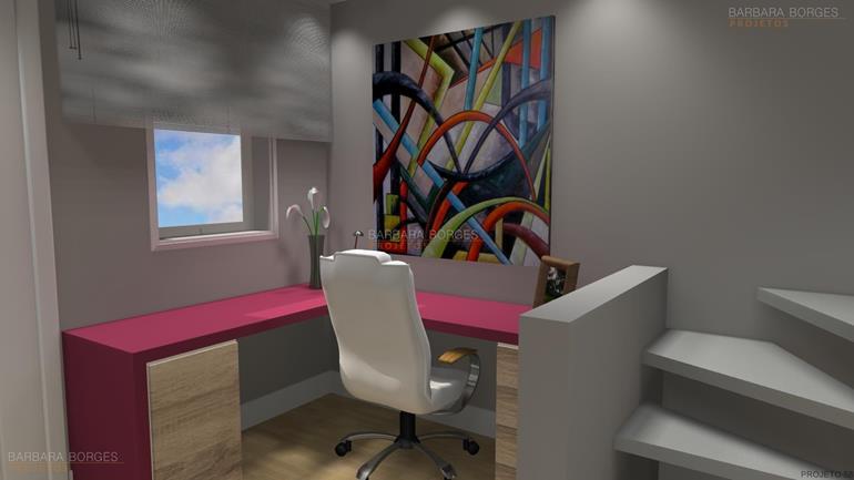 decoração de salas modernas cadeira escritório