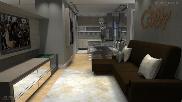 decoração para apartamento cadeira madeira