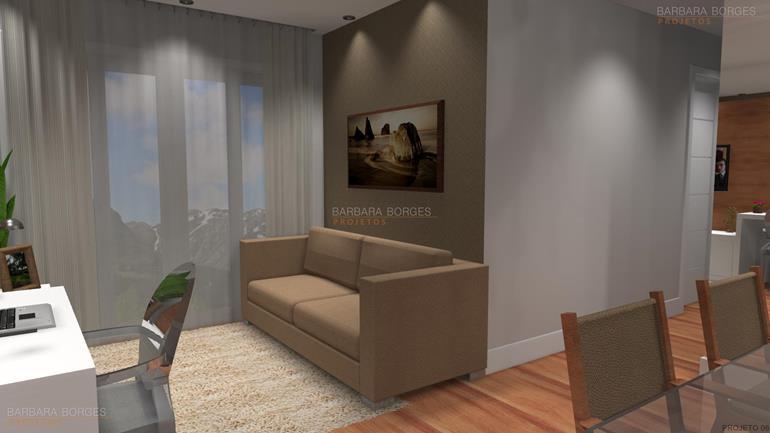 decoração quartos pequenos cadeiras acrilico