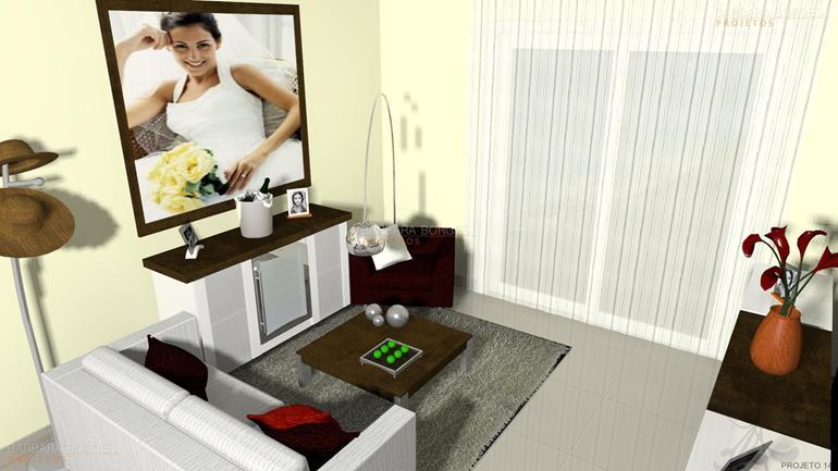 decoração quartos pequenos cadeiras jantar