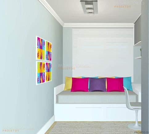 design de ambientes cama casal