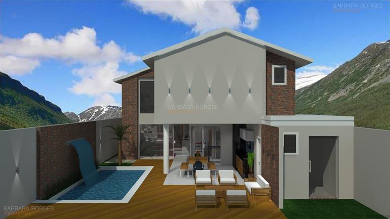 Casa 143m2 3 quartos 1 suite 2 banheiros barbara projetos for Case con 2 master suite