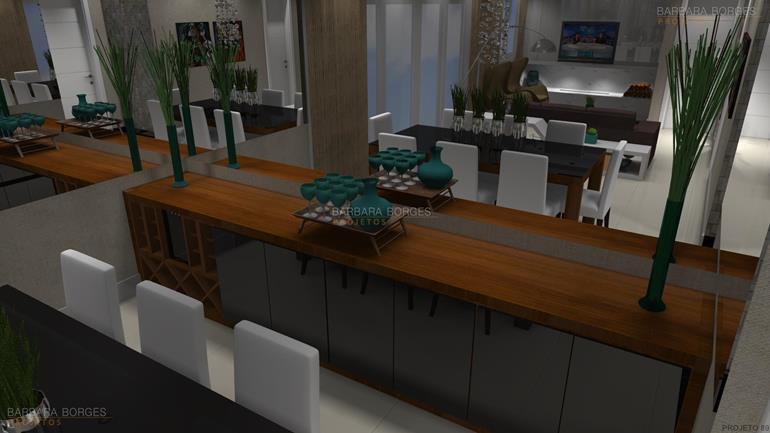 projeto de cozinha americana casa cor