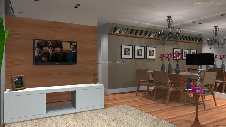 projeto de cozinha americana casa decorada