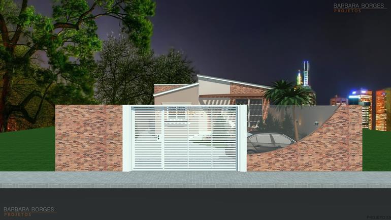 reforma banheiro pequeno casa terrea fachada pedra