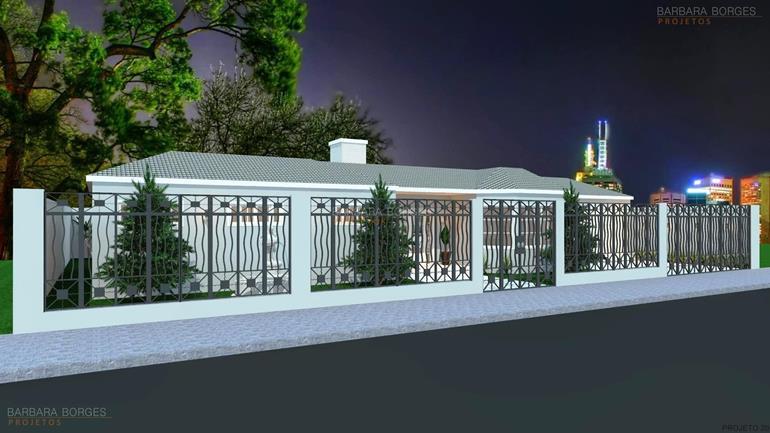 projetos de arquitetos casa terrea garagem carros