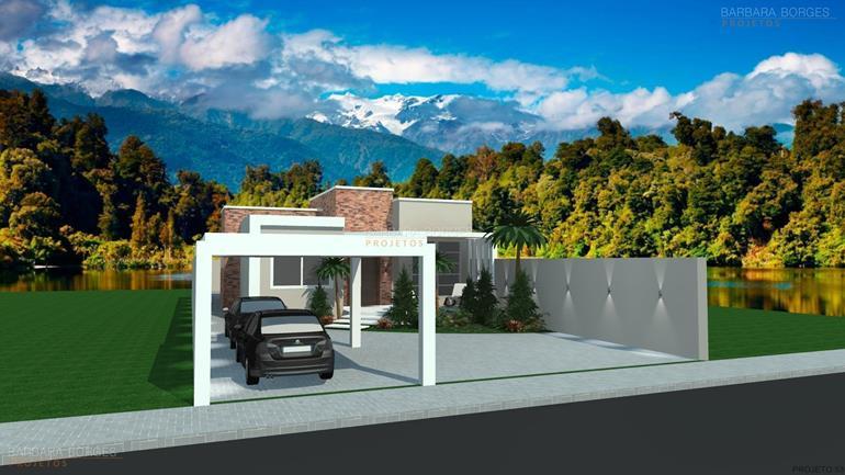 projetos de arquitetos casas 10 metros frente