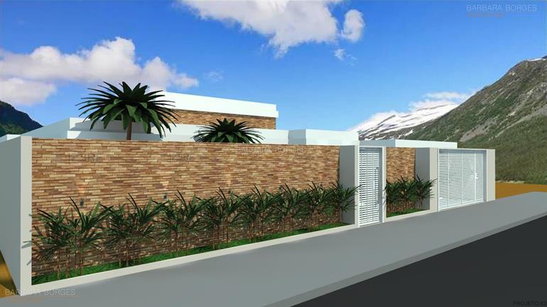 plantas de ediculas casas 11 metros frente