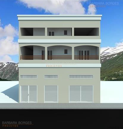 projeto casas populares casas 12 metros frente