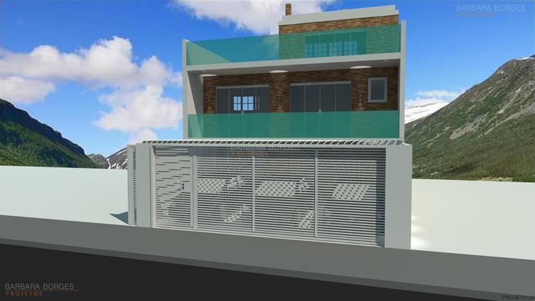 projeto de padaria casas 14 metros frente