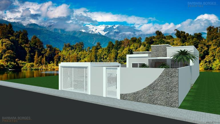 projeto casas populares casas 2 vagas garagem