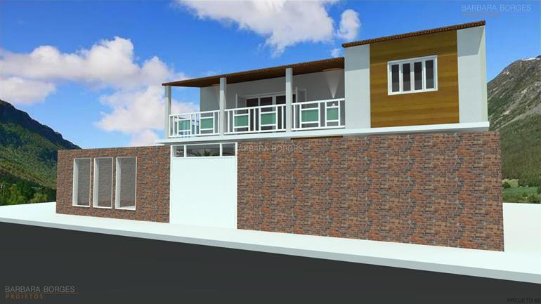 ambientes pequenos casas 5 quartos