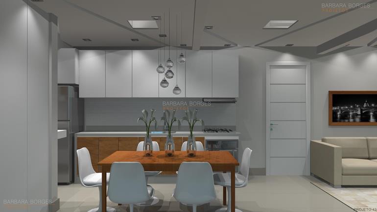 armarios de cozinhas casas ambientes integrados