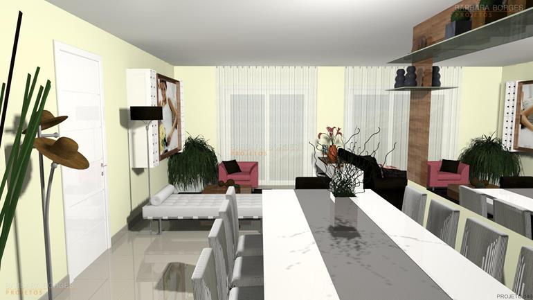 armários para escritório casas ambientes integrados