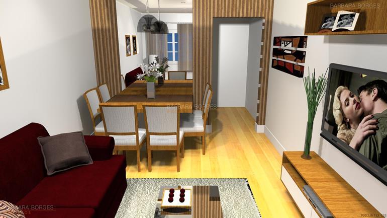 balcão sala de jantar casas ambientes integrados