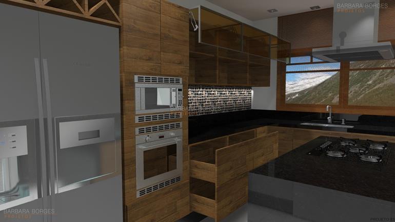 cômoda para bebê casas cozinha americana