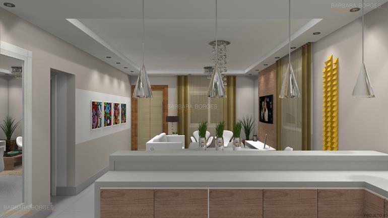 casas cozinha integrada