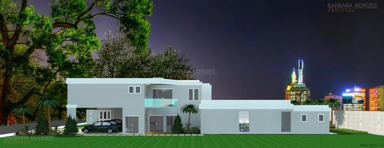 construções e reformas casas design contemporaneo