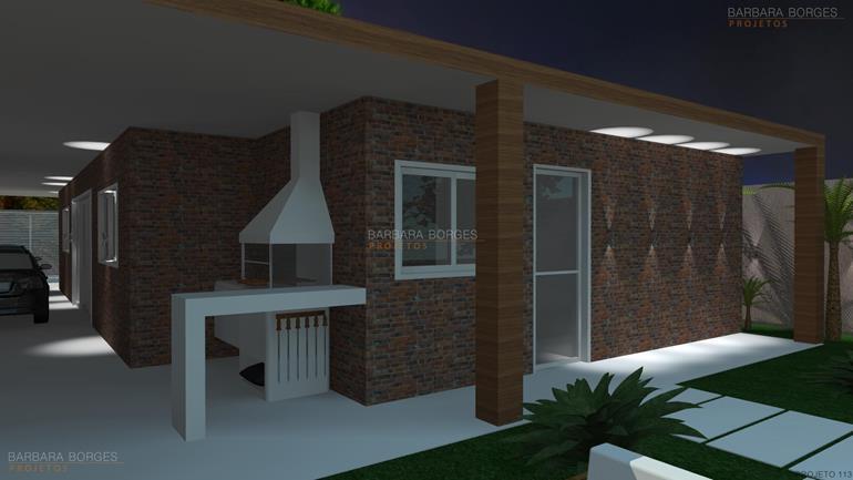 decoração de ambientes internos casas fachada rustica