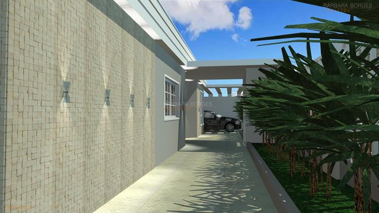 cubas banheiro casas fachada simples