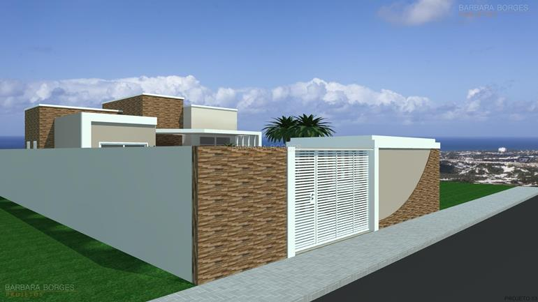cozinha planejada rj casas fachada tijolo vista