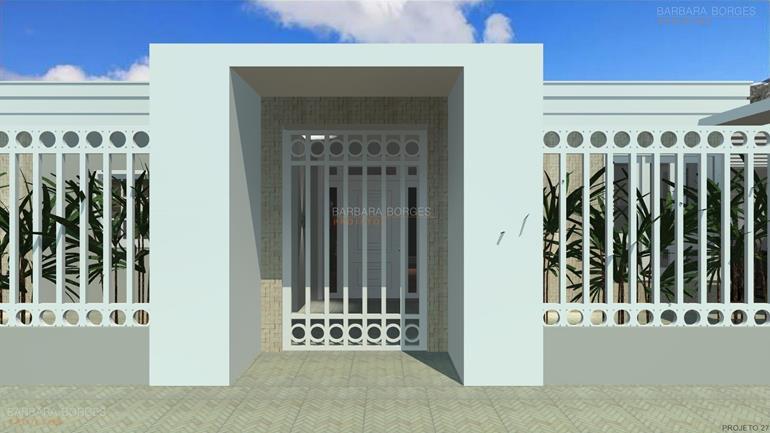 decora interiores casas fachada tijolo vista