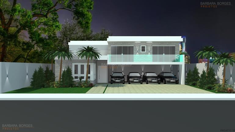 decoração cozinhas casas fachada tijolo vista