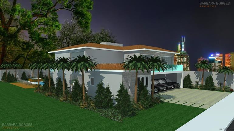 decoração de ambientes internos casas fachada tijolos aparentes