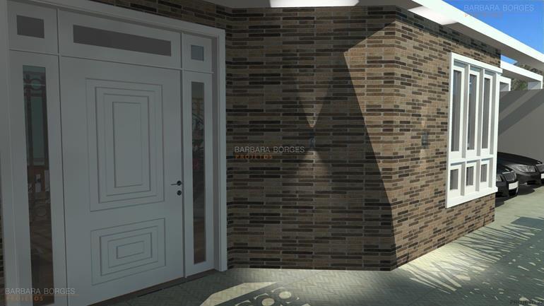 decoração de ambientes internos casas garagem 1 carro