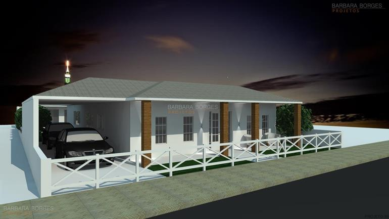 casas garagem