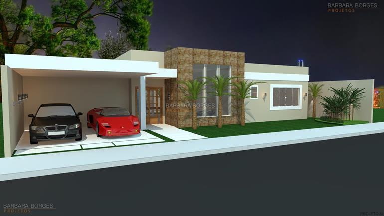 decoração de ambientes internos casas garagem coberta