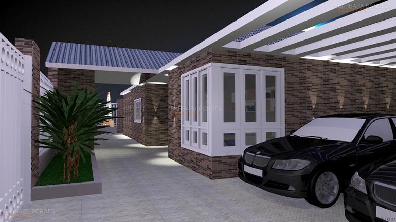 decoração de pequenos ambientes casas garagem descoberta