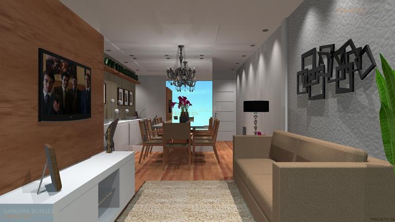 design de interior casas lareira