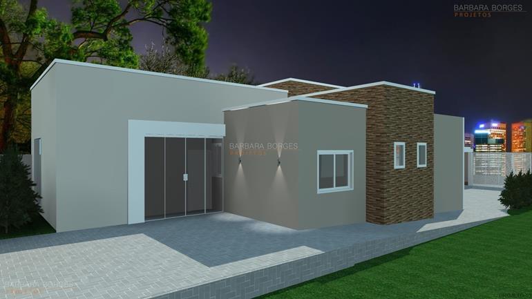 Casas pequena barbara borges projetos for Modelos de casas minimalistas pequenas