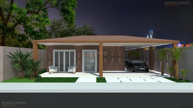 Casas pequenas projetos barbara borges projetos for Modelos de casas minimalistas pequenas