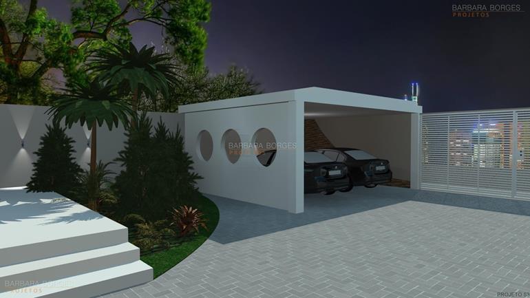 design de interior casas pergolado