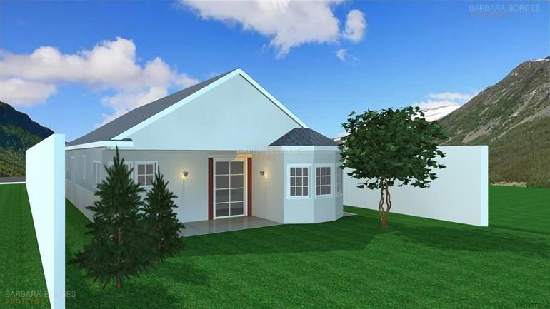 design de móveis casas platibanda