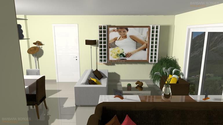 fotos de decoração de casas casas sala estar