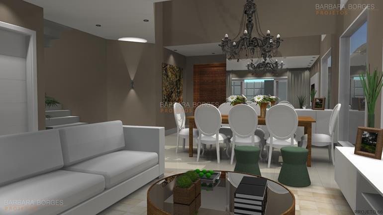 fabricas de moveis casas sala jantar integrada
