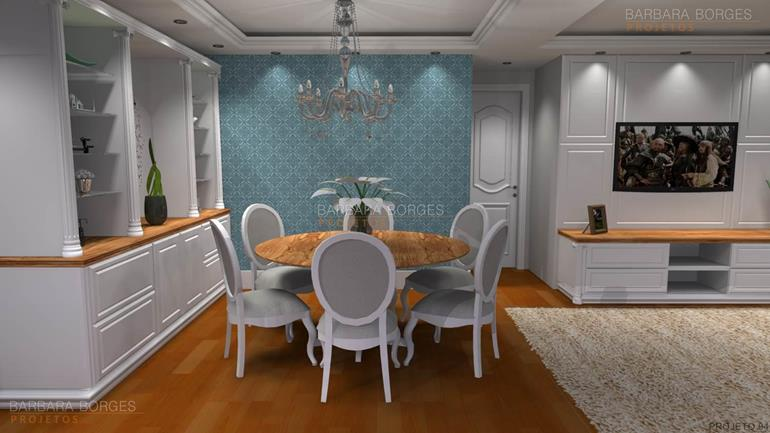 casas sala jantar integrada