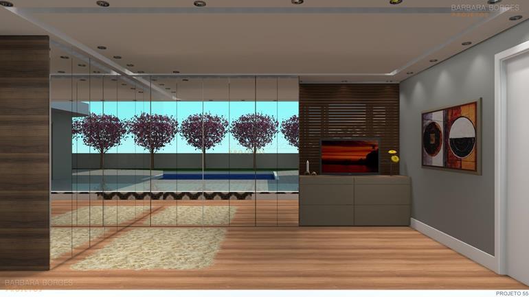 ideias decoração casas suite