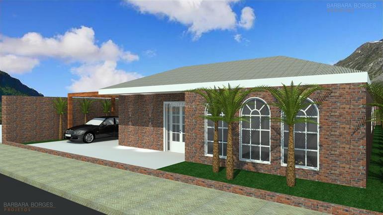Casas telhado embutido barbara borges projetos Modelo de casa l
