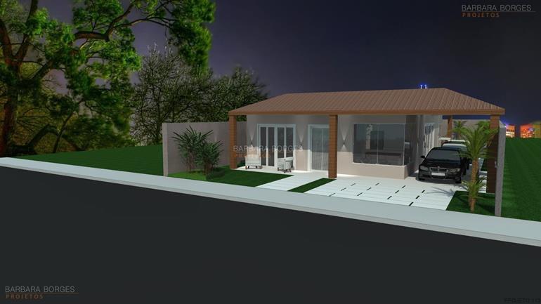 modelo de cozinhas planejadas casas terreas