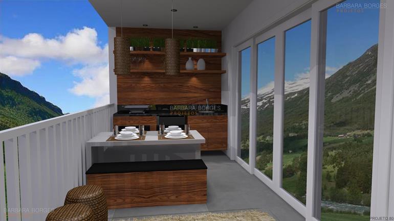 modelo de cozinhas planejadas churrasqueira moderna