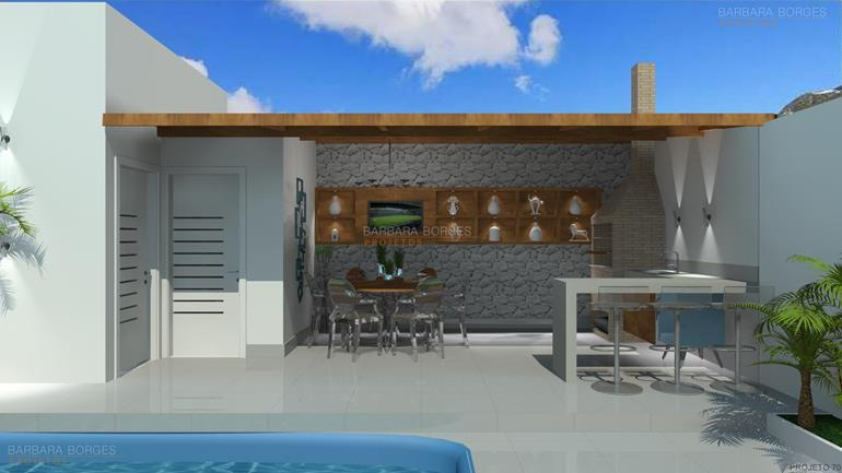 moveis de cozinha planejados churrasqueira moderna